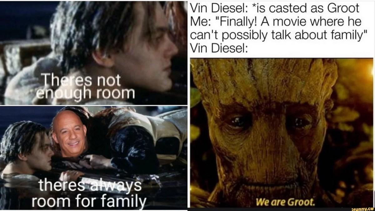 pic Vin Diesel Family https www freepressjournal in viral viral vin diesel meets other hollywood films in twitteratis hilarious family meme fest