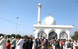 درگاہ حضرت بل میں عید میلاد النبیﷺ منانے کے انتظامات مکمل