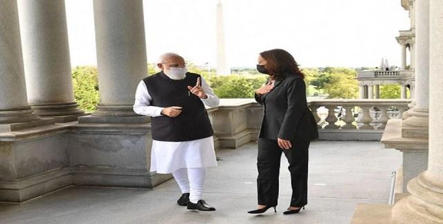 Big news LIVE: PM Modi meets Kamala Harris in America, Vice President said - terrorist organizations are active in Pakistan, action is necessary