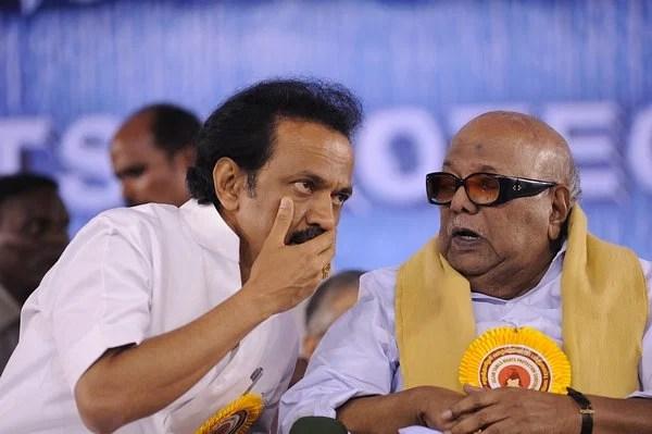 அயோத்தி விவகாரம்... கருணாநிதி பாணியைப் பின்பற்றினாரா ஸ்டாலின்?   Is  Stalin's DMK not following the footsteps of Karunanidhi in Ayodhya issue?