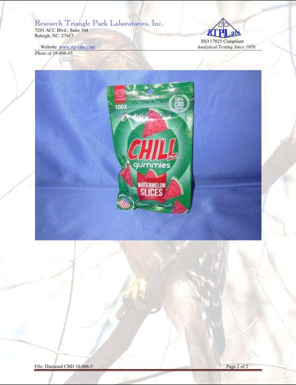 Lab Report Chill Gummies Plus Watermelon Slices 2 9