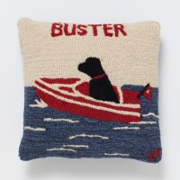 Personalized Sea Dog Pillow | Gump's