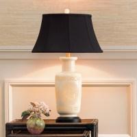 Pierced Bone China Lamp   Gump's