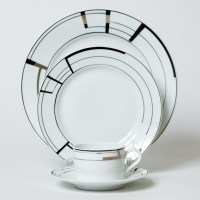 Puiforcat China Art Deco Dinnerware | Gump's