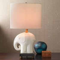 Elephant Table Lamp | Gump's
