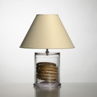 Simon Pearce Nantucket Table Lamp, Small | Gump's