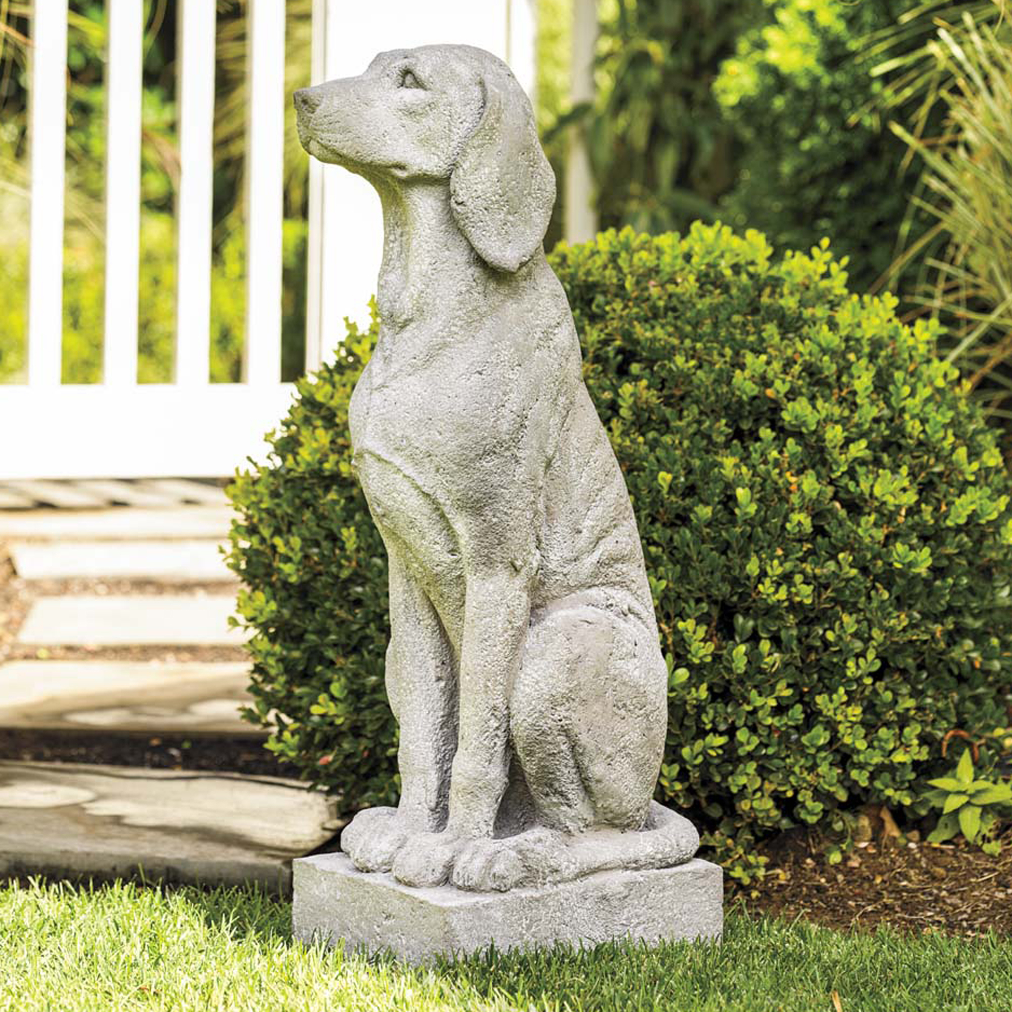 Garden Dog Statues Outdoor