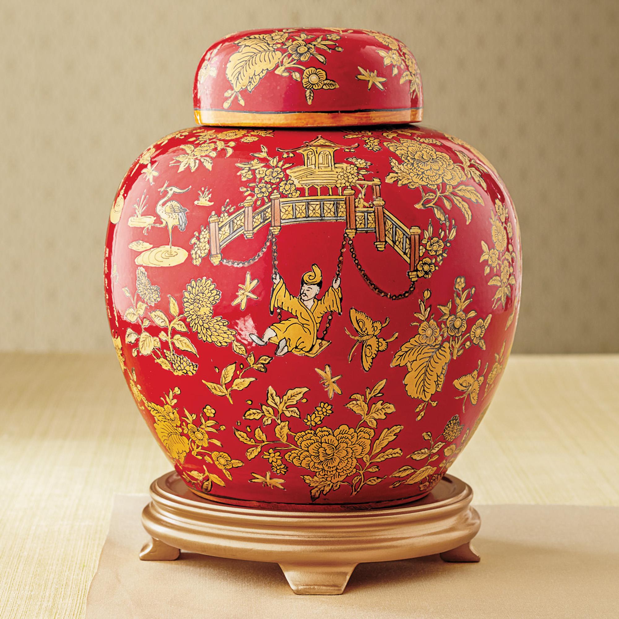 Chinoiserie Ginger Jar Gump'