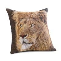 Tanzania Lion Pillow | Gump's