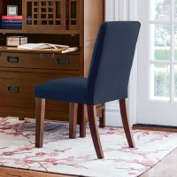 Parsons Navy Blue Side Chair | Gump's