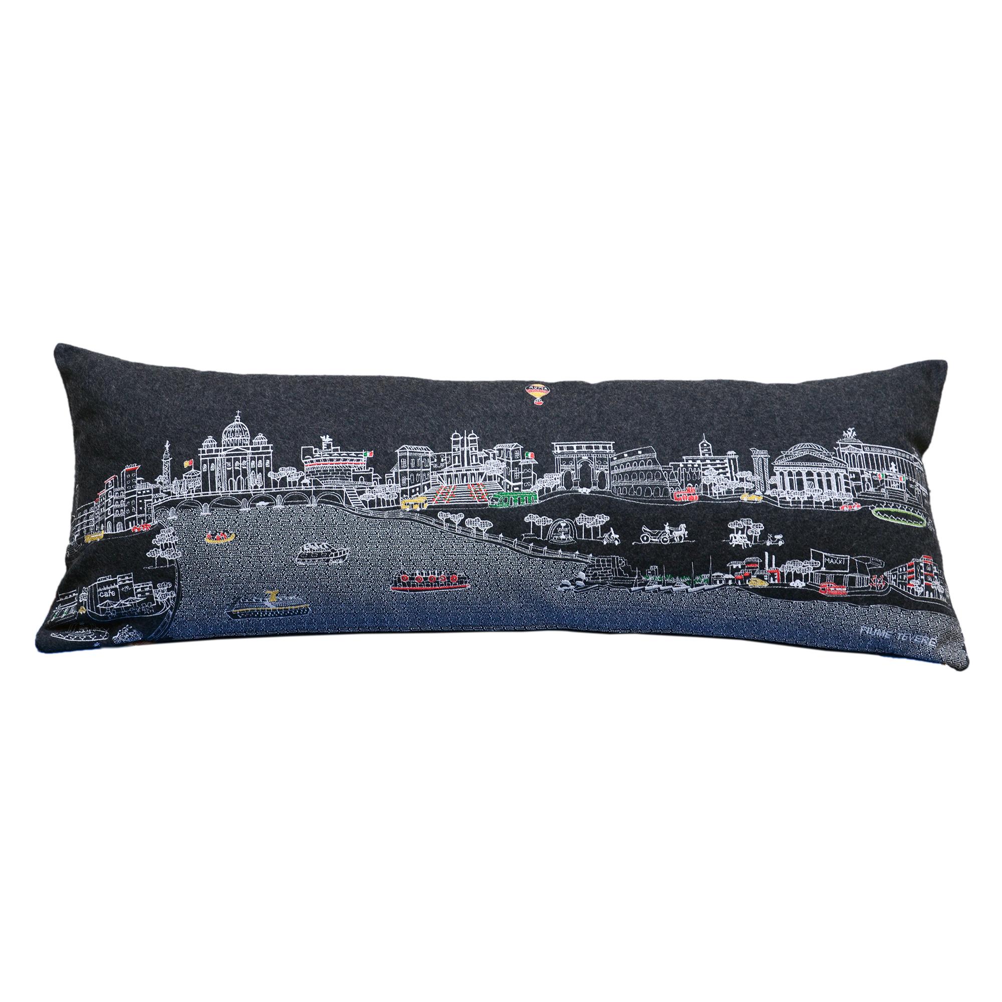 City Skyline Pillow Rome  Gumps