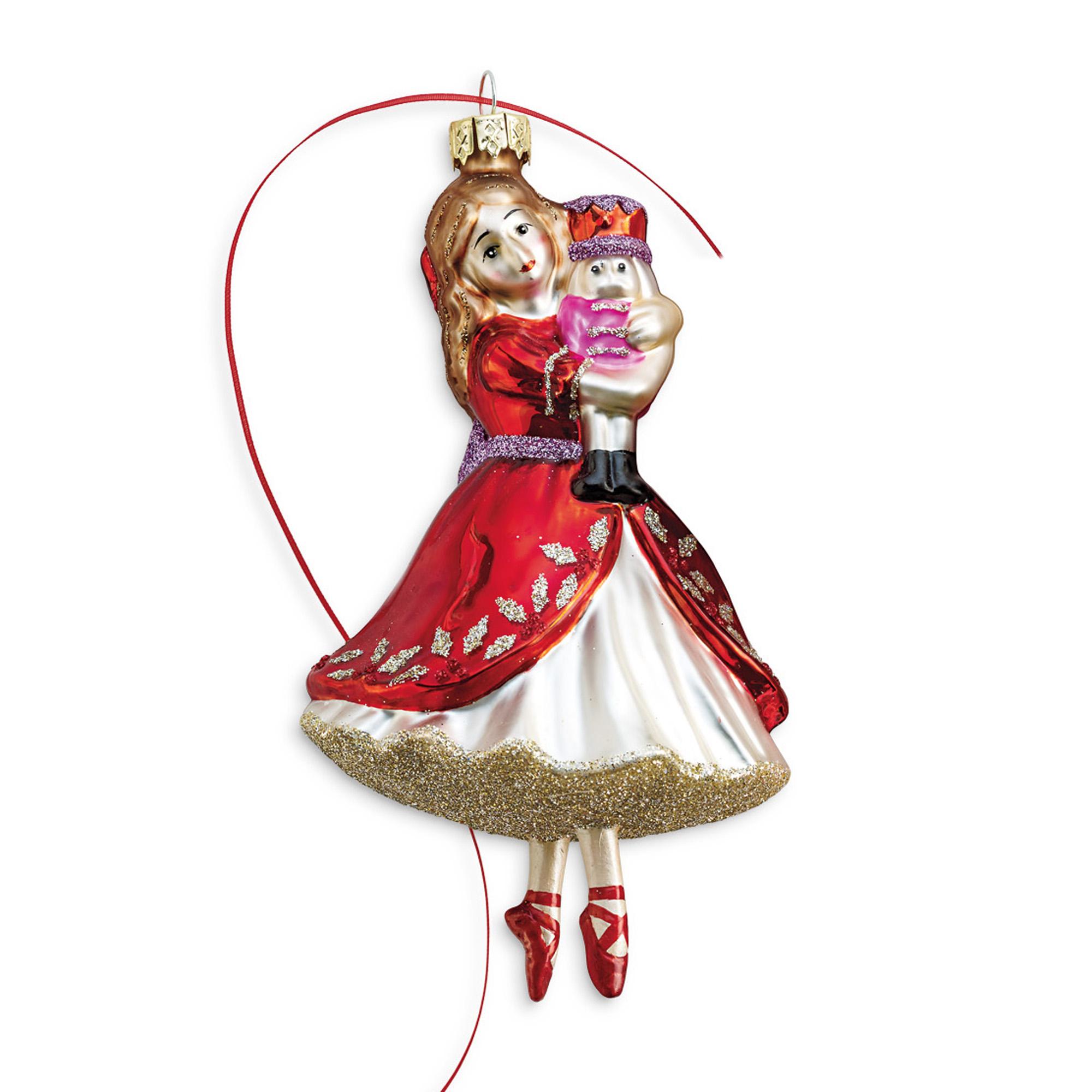 Clara Nutcracker Christmas Ornaments