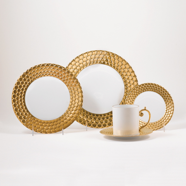 L'Objet Aegean Gold Dinnerware   Gump's