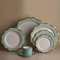 Anna Weatherley Anna's Palette Dinnerware, Aqua Green | Gump's