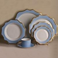 Anna Weatherley Anna's Palette Dinnerware, Sky Blue | Gump's