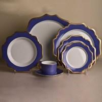 Anna Weatherley Anna's Palette Dinnerware, Indigo Blue ...