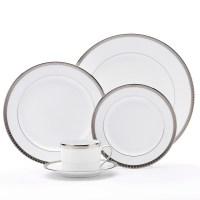 Bernardaud Athena Dinnerware, Platinum | Gump's