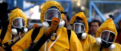 spray chemicals