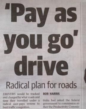 pay as you go rego