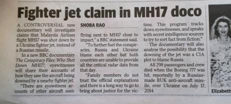 mh17 planes