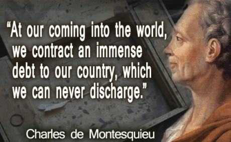 Charles de Montesquieu quote