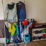 Unsere Wohnung in Perth: der neue Kleiderständer