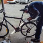neues Fahrrad vorbereiten