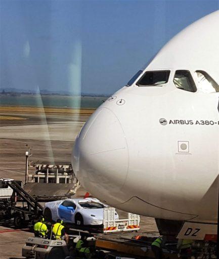 A380 - unser Sportwagen muss mit