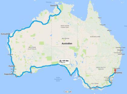 GumtreeFamily.de - Unsere Reiseplanung Australien 2014
