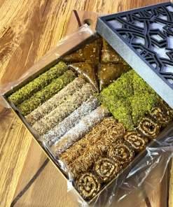 Ahşap İşlemeli Hediyelik Pestil Paketi