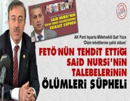 Said Nursi'nin Talebelerinin Ölümlerinde FETÖ Şüphesi