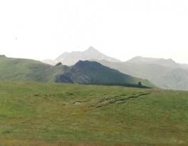 Gümüşhane'nin En Yüksek Tepesi'nin Görüntüsü