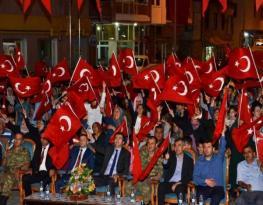 Vali Memiş, Şiranlı Demokrasi Şehitlerini Şiran'da Andı