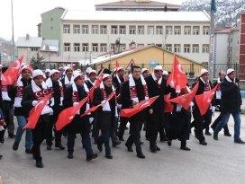 SARIKAMIŞ ŞEHİTLERİ GÜMÜŞHANE'DE ANILDI