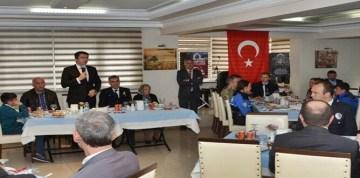 GÜMÜŞHANE POLİSİ'NDEN ŞEHİT YAKINLARI VE GAZİLER ONURUNA  YEMEK