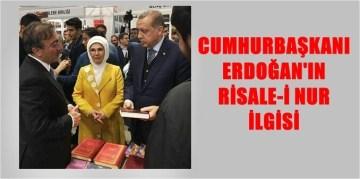 """CUMHURBAŞKANI ERDOĞAN """"BEDİÜZZAMAN SERGİSİNİ"""" ZİYARET ETTİ"""