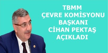 "BAŞKAN CİHAN PEKTAŞ'IN ""5 HAZİRAN DÜNYA ÇEVRE GÜNÜ"" MESAJI"