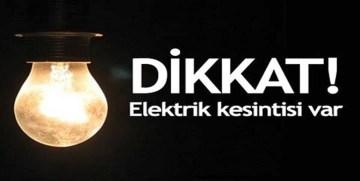 GÜMÜŞHANE'DE ELEKTRİK KESİNTİSİ YAPILACAK