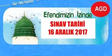 SİYER-İ NEBİ BİLGİ YARIŞMASI 16 ARALIK'TA GÜMÜŞHANE'DE DE YAPILACAK