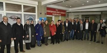 Gümüşhane Belediye Başkanı Ercan Çimen Kent Konseyi'ni ziyaret etti