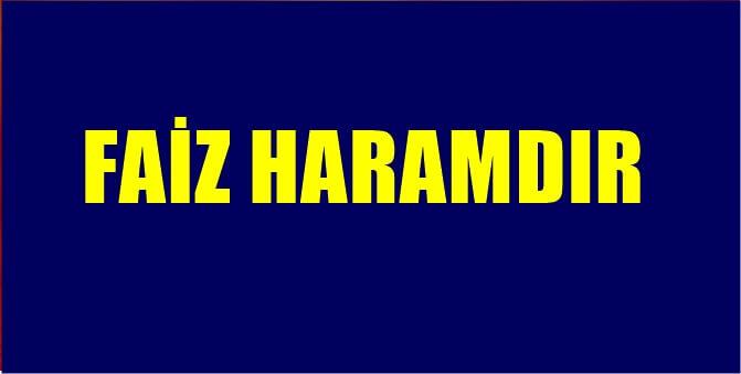 """Türkiye'de Tüm  Camilerde """"FAİZ"""" Konulu Hutbe Okundu"""