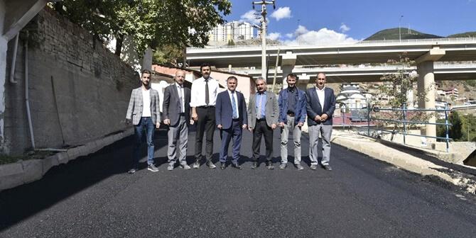 Gümüşhane Belediyesi sıcak asfalt çalışmalarına hız verdi