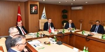 DOKA Yönetim Kurulu Gümüşhane Valisi Taşbilek Başkanlığında Toplandı