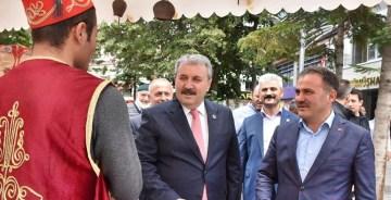"""BBP GENEL BAŞKANI DESTİCİ: """"HDP EŞİTTİR PKK'DIR"""""""
