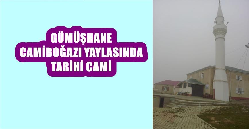 Sultan Murat Camii Camiboğazı yaylasında huzur veriyor