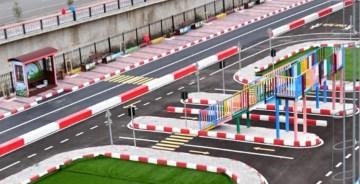 Gümüşhane'de Yüksek Standartlı  Çocuk Trafik Eğitim Parkı'na Şehit Polisimizin Adı Verildi
