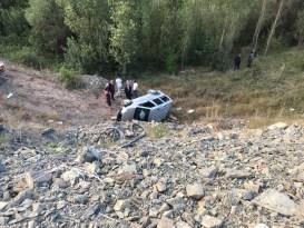 Gümüşhane'de 3 ayrı trafik kazası: 6 yaralı