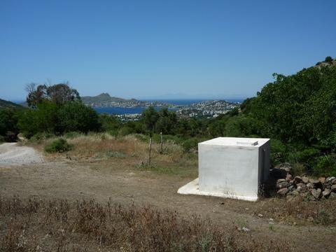 White Drinking Fountain at Sandima