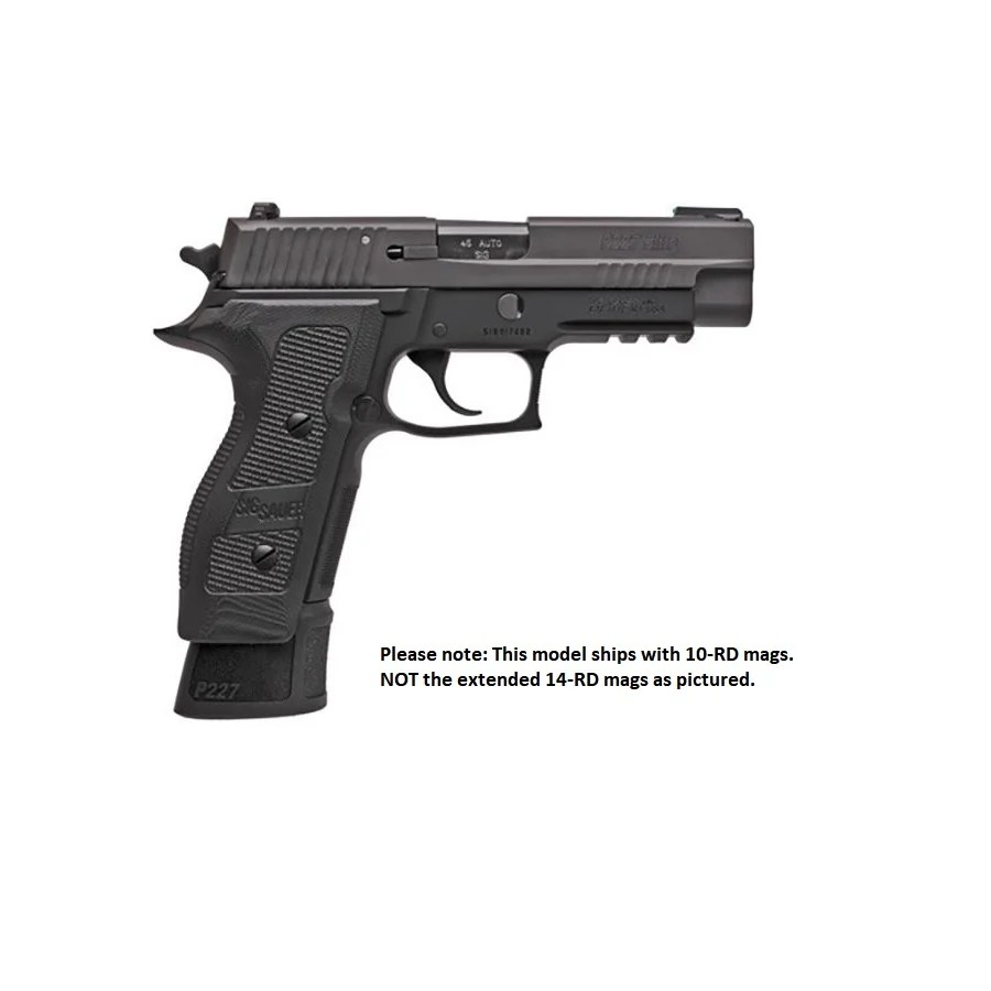 medium resolution of sig sauer p227 tacops 45 acp 4 4 barrel nitron finish 999 71 free s h on firearms