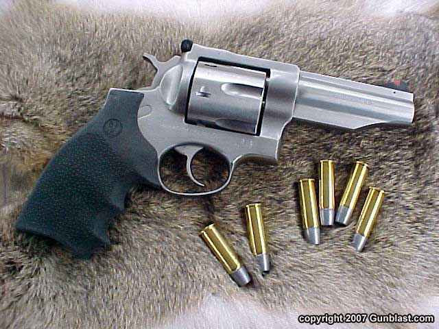 Ruger Four Inch 44 Magnum Stainless Redhawk